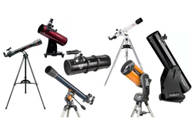 Telescopes collage
